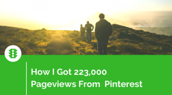 How I Got Pinterest Traffic