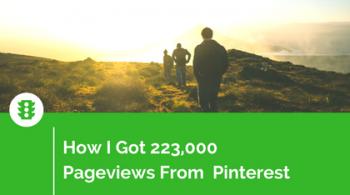 How I Got Pinterest Traffic