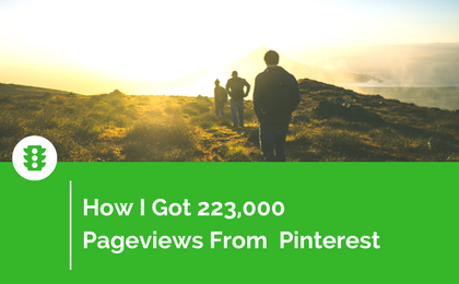 Pinterest Traffic: How I Got 223,000 Pageviews to My Blog