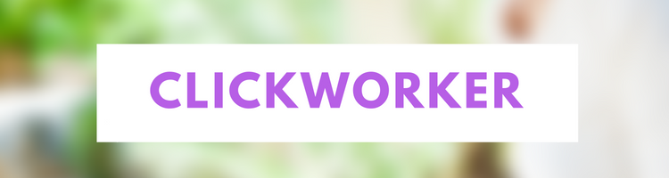 Clickworker - another site where you can make money online