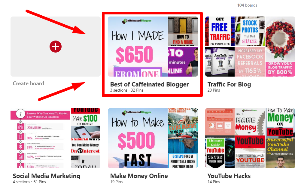 Best of example for the blog traffic article